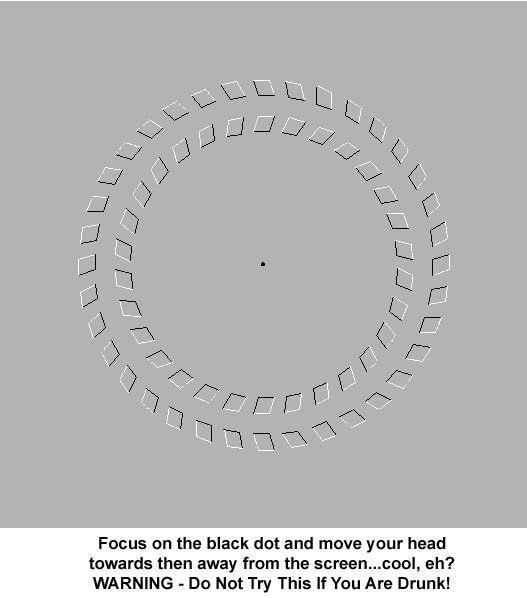 Spiral eye trick