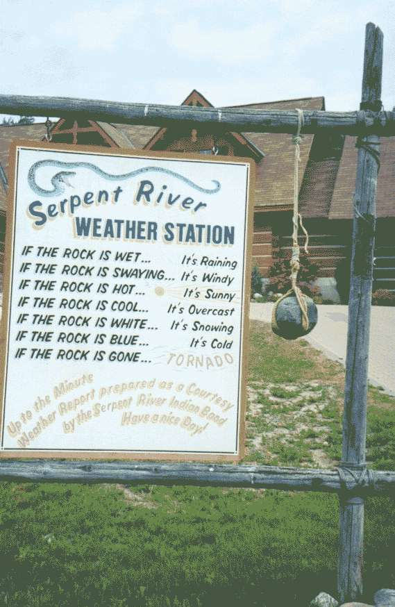 High tech weather station